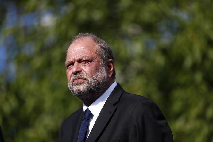 Le ministre français de la justice Eric Dupond-Moretti.