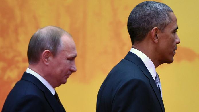 Putin en Obama