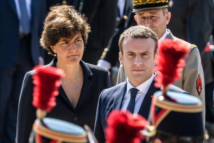 Emmanuel Macron et Sylvie Goulard