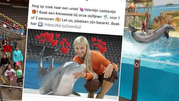 Facebookpost Boudewijn Seapark