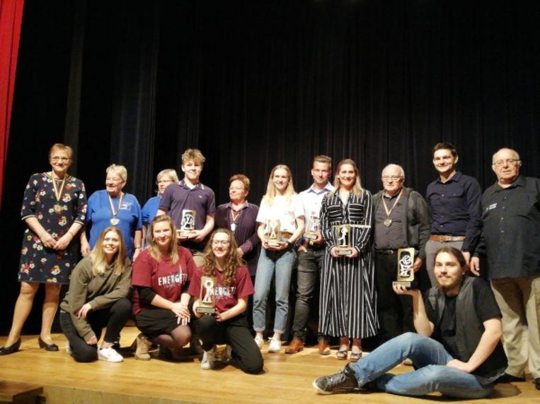 Sportlaureaten van Kortenaken werden gehuldigd in Den Hoek.