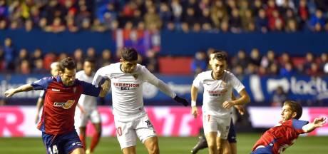 Sevilla loopt zonder De Jong averij op tegen tien man Osasuna