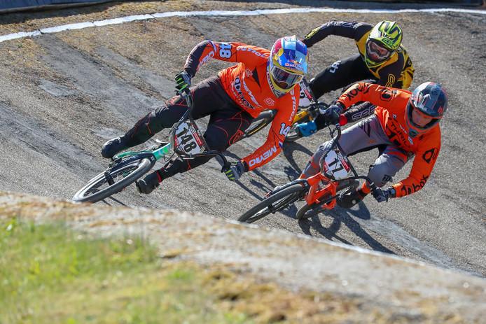 BMX Wereldbeker Supercross: Papendal Worldcup BMX supercross Papendal. (148) Twan van Gendt