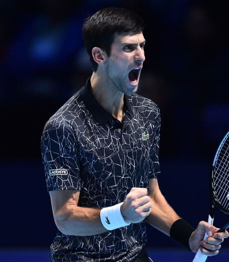 Djokovic te sterk voor Isner bij ATP Finals