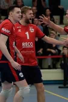 Volleyballers ZVH krijgen stuntploeg bijna op de knieën