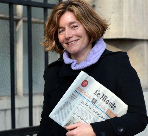 Het protest richt zich tegen directrice Natalie Nougayrède.
