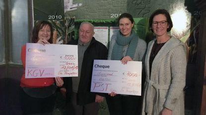 Kerstcafé van De Perepotters levert 2.000 euro voor het goede doel op