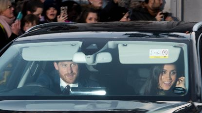 Britse royals genieten van kerstlunch in Buckingham Palace