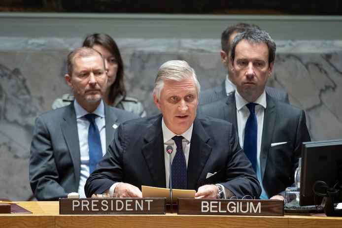De Belgische koning Filip
