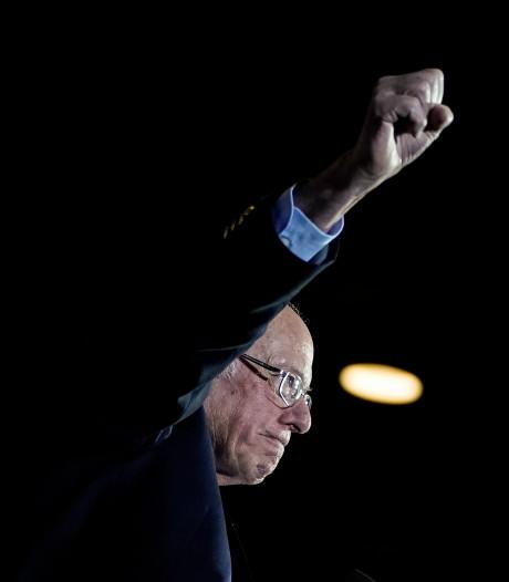 Bernie Sanders maakt verwachtingen waar met daverende overwinning in Nevada