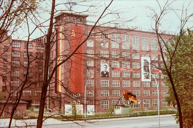 Een foto die Margriet Meindertsma maakte tijdens een bezoek aan de DDR. Beeld