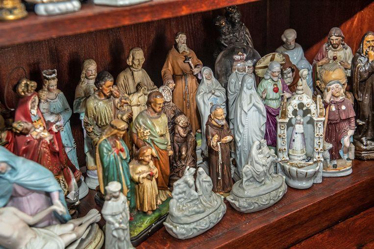 De collectie van Maria Vanseveren.