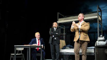 Duits theater onder vuur: Met hakenkruis op jas gratis toegang, anders betalen en jodenster