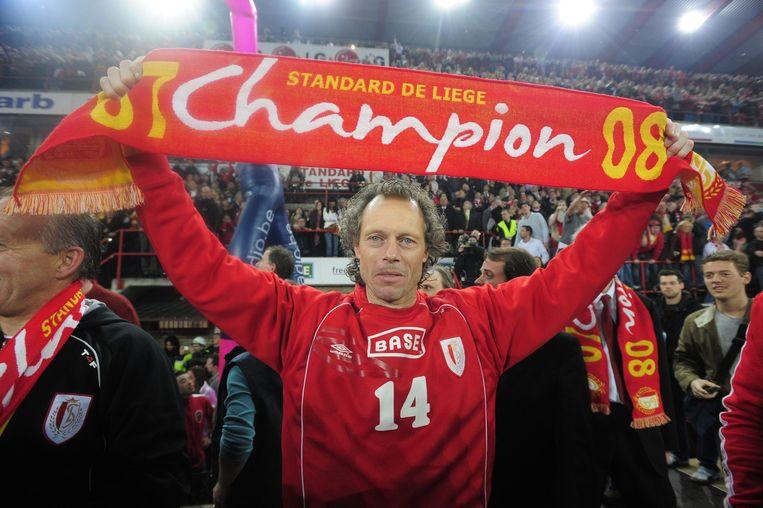 Michel Preud'homme werd in 2008 landskampioen met Standard.