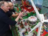 Brandweermannen maken rampen na met Lego