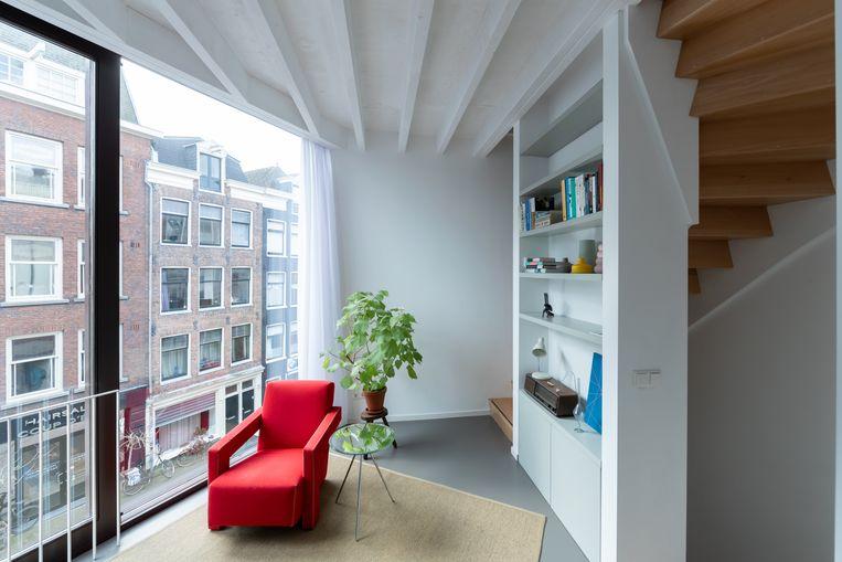 Project Towerhouse in Amsterdam van Bureau LADA. Beeld Iwan Baan