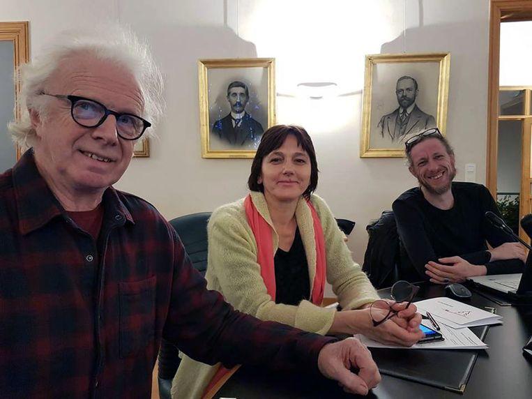 Violeta Vitelis, Peter Singulé en Ugo Magnus zetelen voor de laatste keer als gemeenteraadslid in Huldenberg.