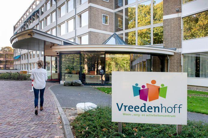 Verpleeg- en verzorgingshuis Vreedenhoff aan de Esperantolaan in Arnhem, archieffoto ter illustratie.