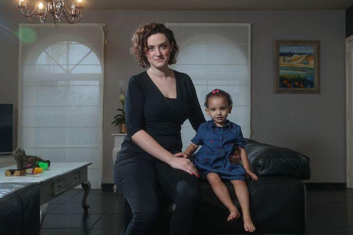 Gitte et sa fille Daya