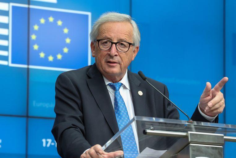 """Jean-Claude Juncker: """"De Belgische begroting stelt geen enorm probleem. Zelfs geen groot probleem. Zelfs geen probleem."""""""