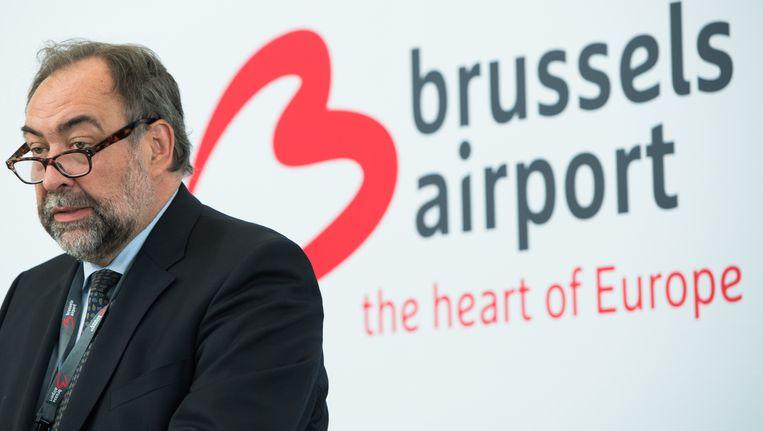 Marc Descheemaecker, voorzitter van de raad van bestuur van Brussels Airport.