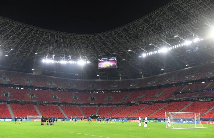 Puskas Arena in Budapest.