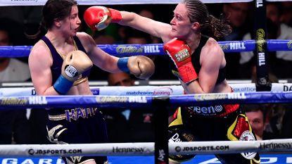 """Zou het? Katie Taylor belooft opnieuw rematch tegen Delfine Persoon: """"Ik wil dat het gevecht er komt"""""""