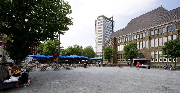 Binnenkort is in het monumentale pand aan de Neude in Utrecht geen envelop meer terug te vinden. © ANP