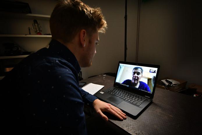 Skypen is volgens Dimence een zeer effectieve vorm van behandeling.