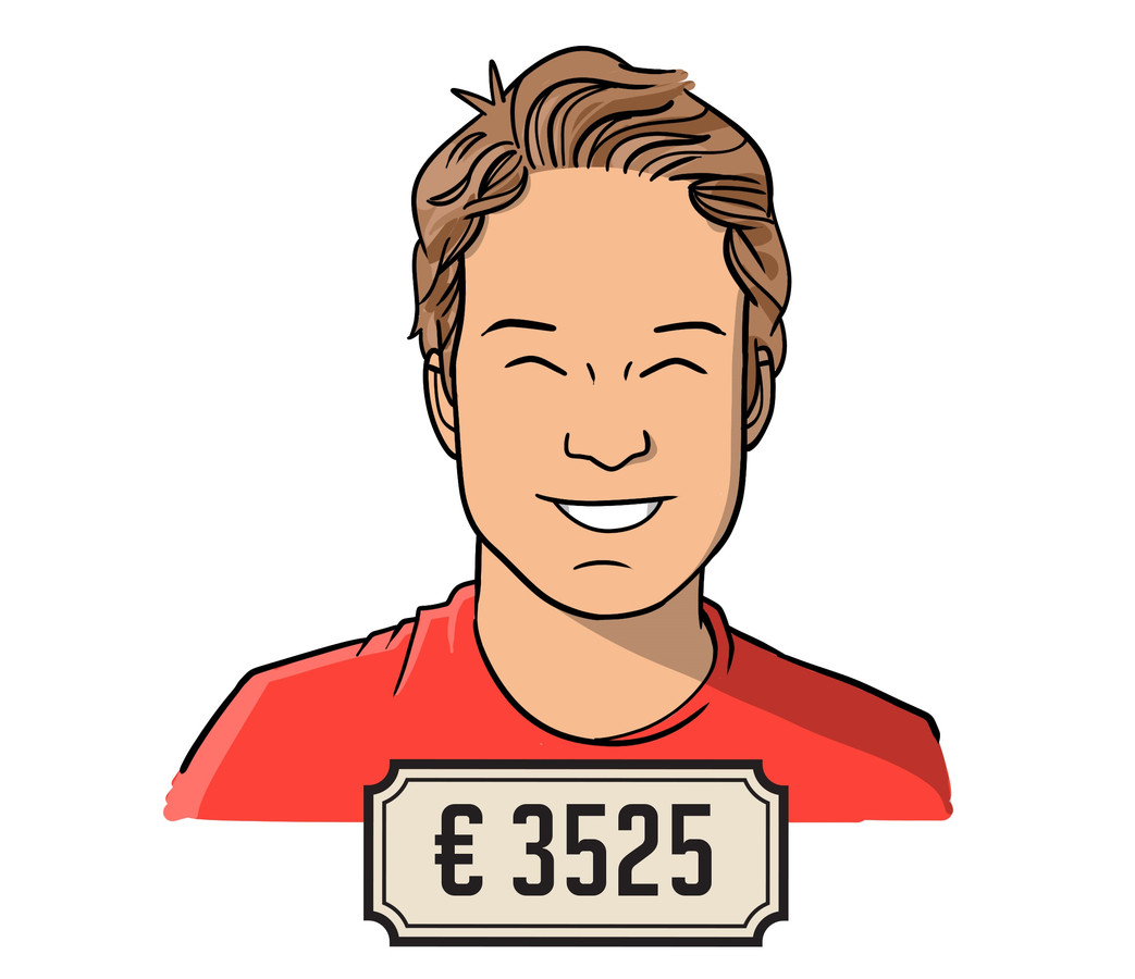 """Rob Cretskens (29): ,,Op dit moment verdien ik meer dan mijn vriendin. Maar dat komt ook omdat zij pas één jaar werkervaring heeft."""""""