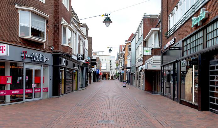 De Kerkstraat in Hilversum, foto ter illustratie