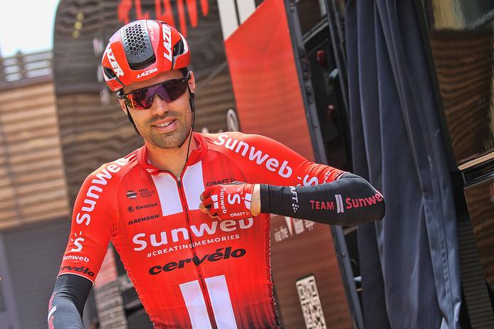 Tom Dumoulin verschijnt wél aan de start van het NK wielrennen in Ede, eind juni.