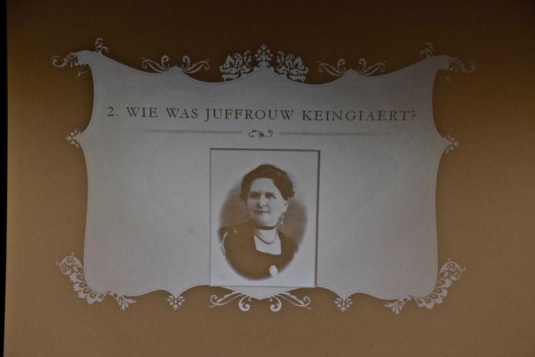 Léonie Keingiaert de Gheluvelt.