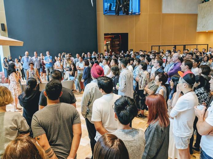 In Aziatische landen is het protest al begonnen. In Singapore heeft het personeel van Google de Walk-Out gehouden.