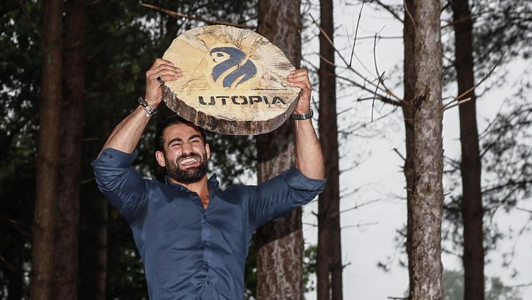 Ivan Mauloed won vrijdag de eerste Utopia Beeld Jerry Lampen/ANP