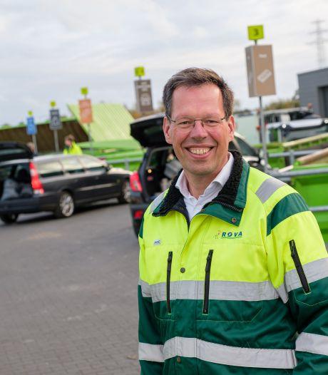 Nieuwe ROVA-directeur Roger Beuting: 'De kwaliteit van afval moet omhoog'