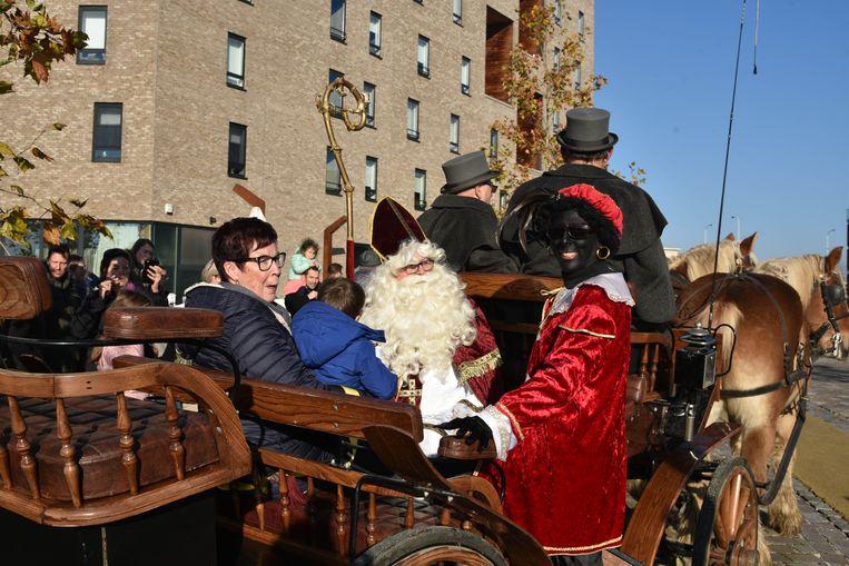Sinterklaas en zwarte piet in Vilvoorde
