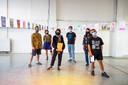 De kunstenaars van Het Bos presenteerden donderdagavond het boek en de bijbehorende expo RISOTTO.