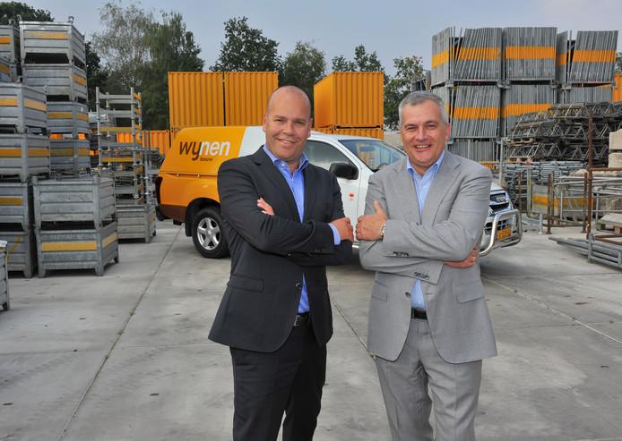 Bart Holleman (links) en Piet-Hein Maas voeren samen de algemene directie van Wijnen.
