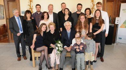 Albert en Maria vieren 65 jaar huwelijksgeluk