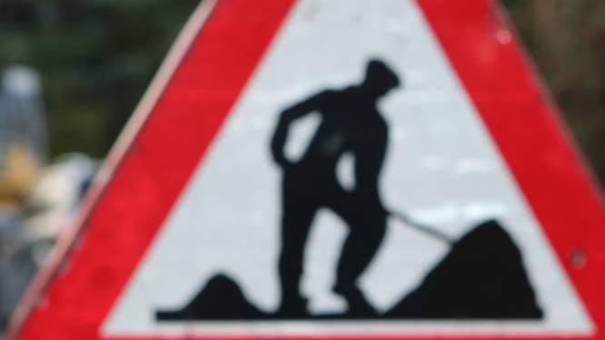 Kleine Bergstraat dag afgesloten voor werken