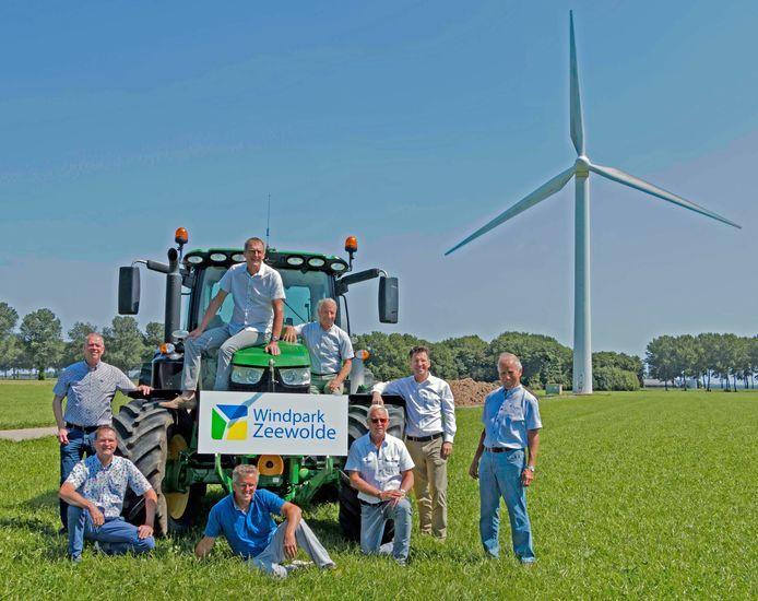 Het bestuur van Windpark Zeewolde.