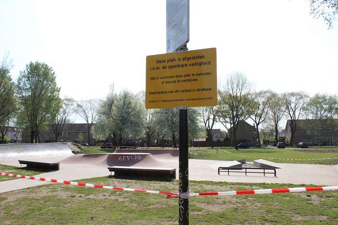 Skatebaan in Boxtel gesloten