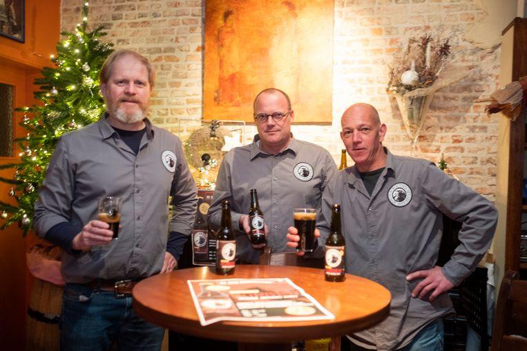 De brouwers van Murder. Het bier werd vierde.