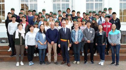 Chinese vrienden te gast in College Paters Jozefieten