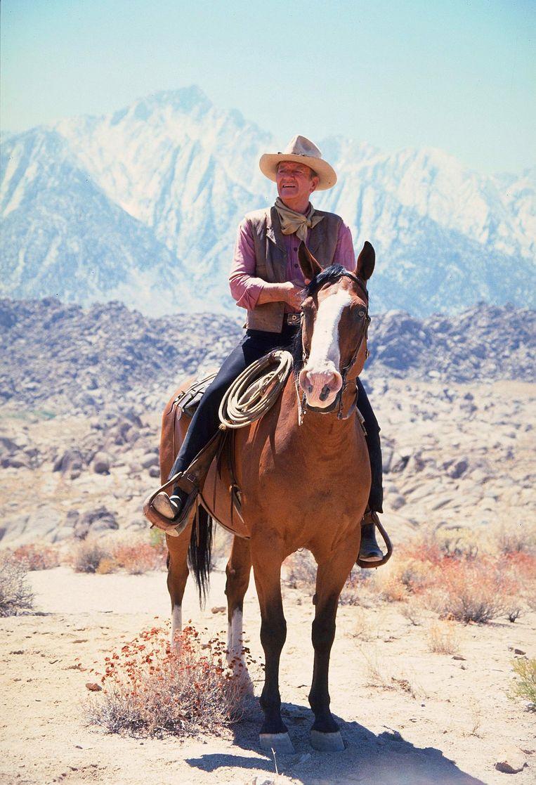 John Wayne. Beeld null