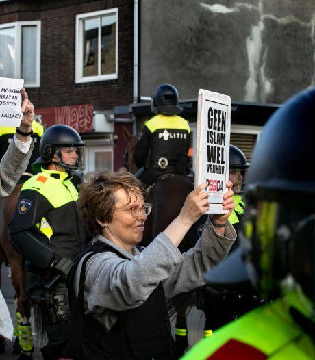 Pegida-voorman verheft in Eindhoven provoceren tot kunst