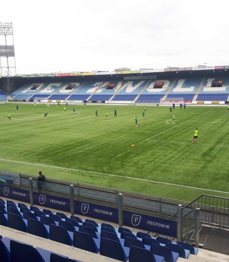 Lachman loopt vooral rondjes tijdens eerste stadiontraining PEC Zwolle
