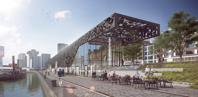 Het nieuwe Leuvepaviljoen in het centrum van Rotterdam pakt een stuk duurder uit dan gepland.