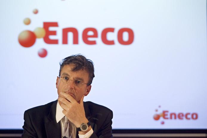 Mr Eneco, Jeroen de Haas. Onder zijn leiderschap zette Eneco vol in op groene energie.